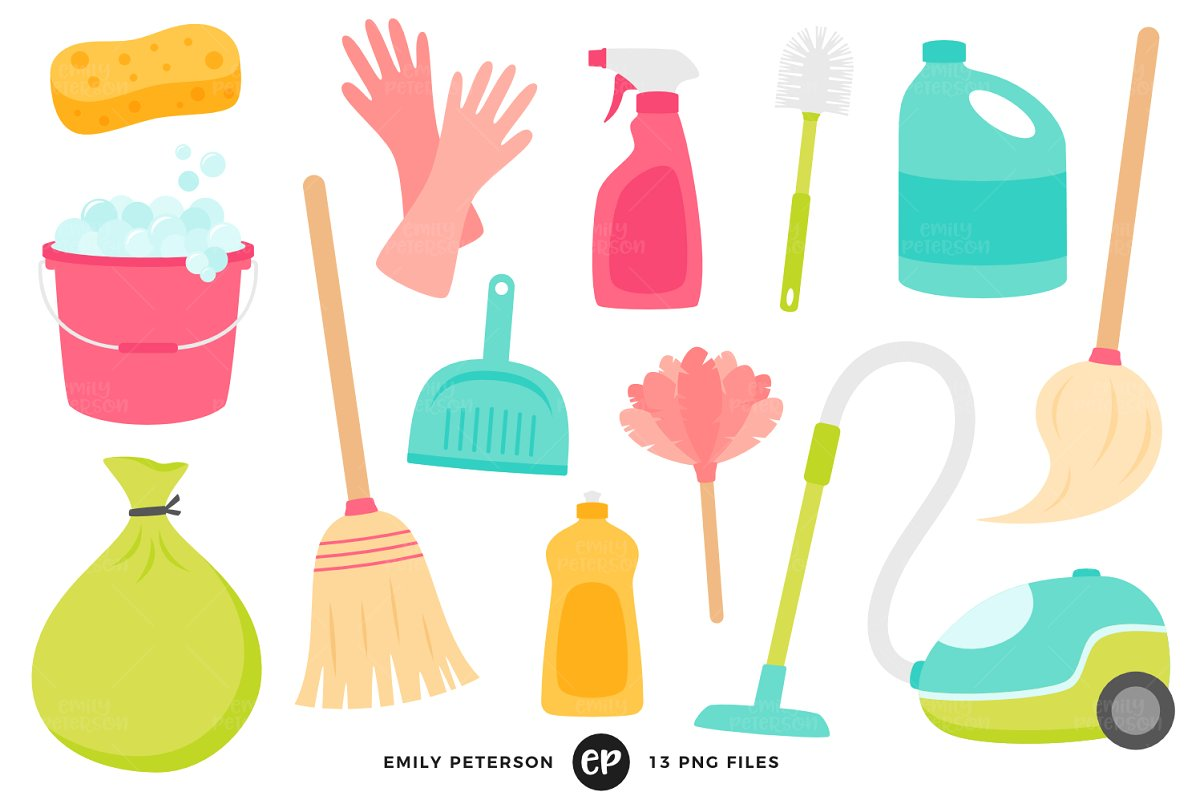 Claining clipart clip art royalty free library Spring Cleaning Clipart clip art royalty free library