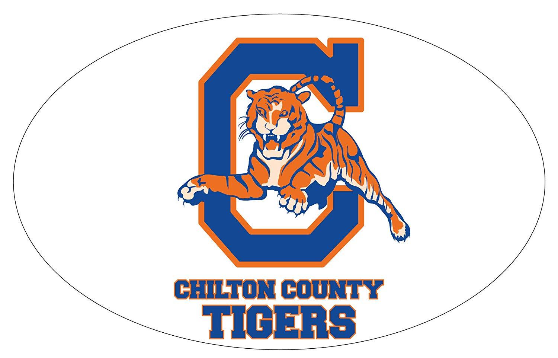 Clanton alabama clipart clip black and white download Amazon.com : Chilton County High School Tigers Clanton Alabama ... clip black and white download