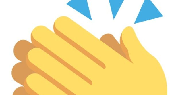 Clap emoji clipart