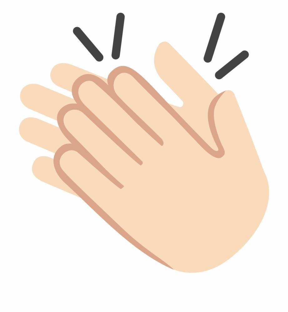 Clap emoji clipart clip art transparent download Open - Iphone Emoji Hand Clap Free PNG Images & Clipart Download ... clip art transparent download