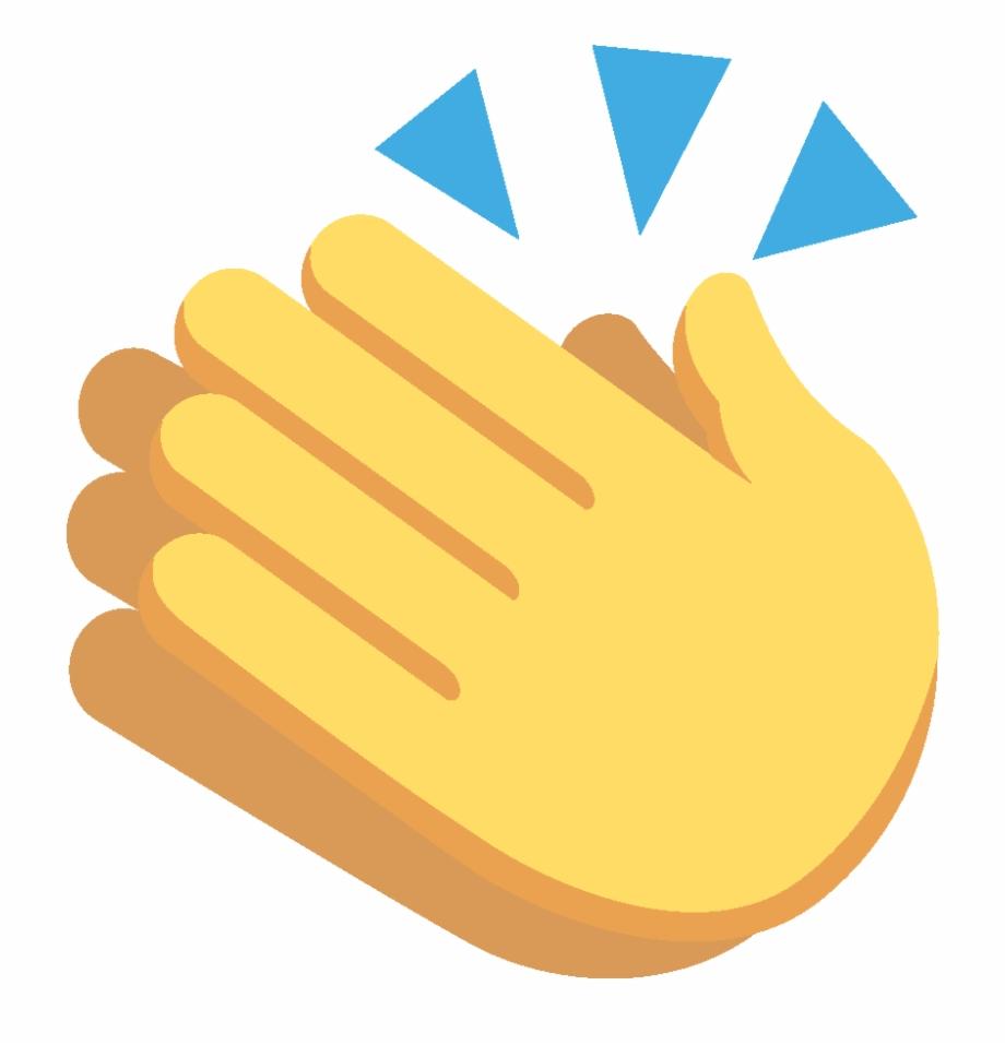 Clap emoji clipart image transparent Clap - - Hands Clapping Emoji Png - clap png, Free PNG Images ... image transparent