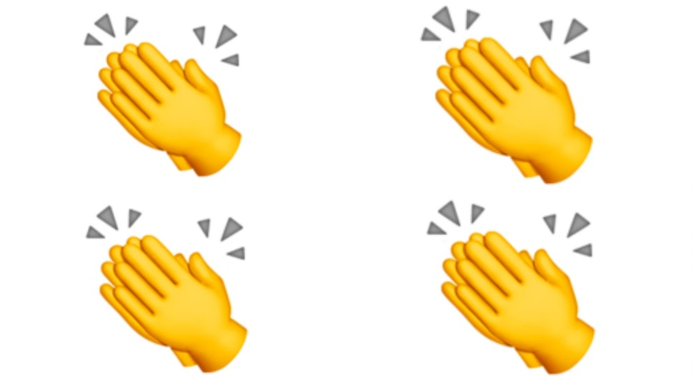 Clap emoji clipart png black and white download What Does The Clapping Hands Emoji Mean On Twitter? It Goes Back ... png black and white download