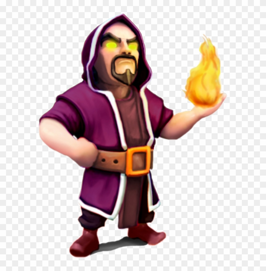 Clash of clans wizard clipart svg freeuse stock Image Clash Of Clans Clip Art Library Stock - Clash Of Clans Wizard ... svg freeuse stock