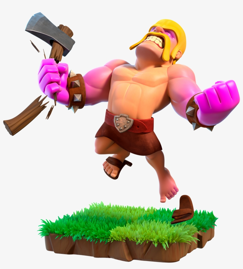Clash of clans clipart images picture free Giant Clipart Clash Clans - Raged Barbarian Clash Of Clans ... picture free
