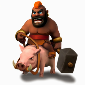 Clash of clans clipart images graphic Hogrider Clash Of Clans | Free Images at Clker.com - vector clip art ... graphic
