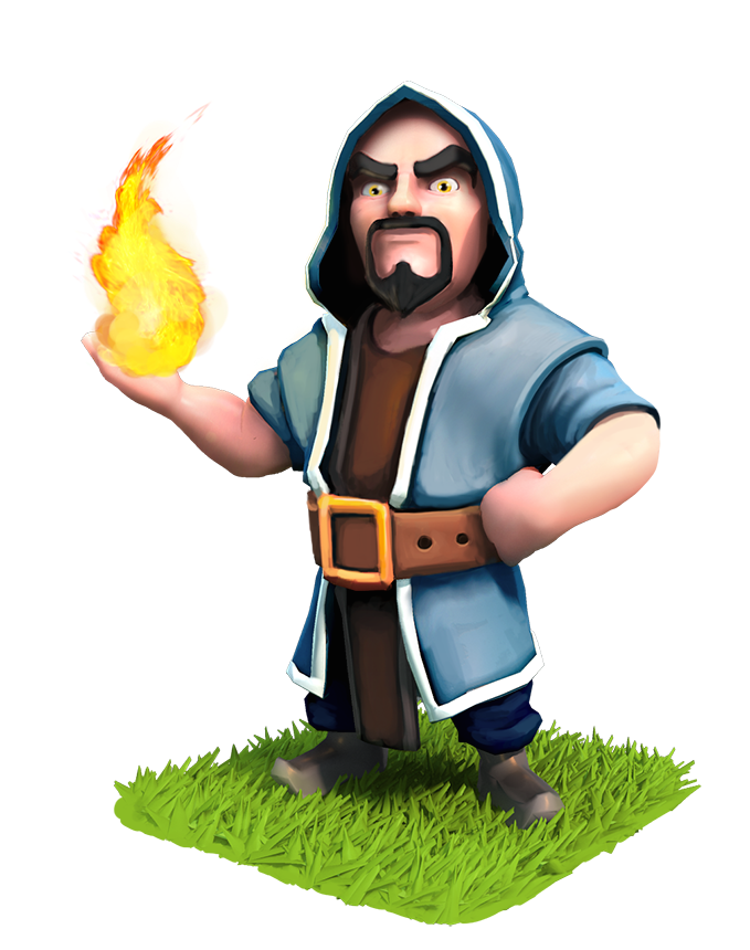 Clash of clans wizard clipart transparent Download wizard clash royale clipart Clash of Clans Clash Royale ... transparent