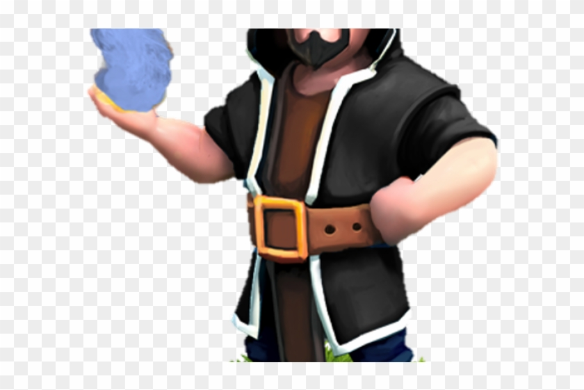 Clash of clans wizard clipart clip art royalty free download Clash Of Clans Clipart Wizard - Wizard In Clash Of Clans, HD Png ... clip art royalty free download
