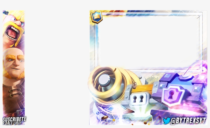 Clash royale clipart overlay jpg royalty free library Free Clash Overlay Royale 14975 - Overlays Clash Royale Templates ... jpg royalty free library