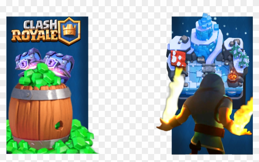 Clash royale clipart overlay svg royalty free download Clashroyale Image - Overlay De Clash Royale, HD Png Download ... svg royalty free download