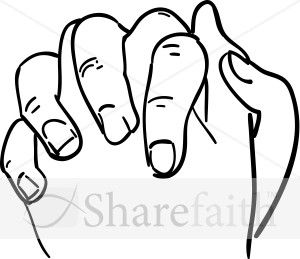 Clasped clipart clipart library stock Clasped Hands in Outline | Praise the Lord in 2019 | Praying hands ... clipart library stock