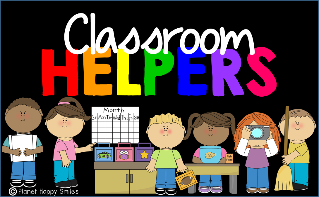 Class helpers clipart graphic free library Planet Happy Smiles: Students LOVE Classroom Helpers/Jobs and You ... graphic free library