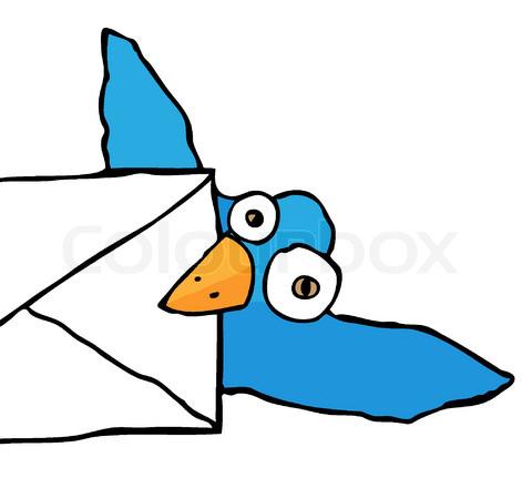 Class messenger clipart image free Messenger bird clipart - ClipartFest image free