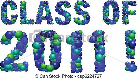 Class of 2011 clipart clipart free library Vector Clipart of Class of 2011 College High School Graduation Cap ... clipart free library