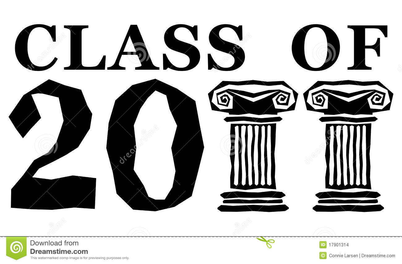 Class of 2011 clipart clip black and white Graduation Congratulations Lettering Stock Illustrations – 46 ... clip black and white