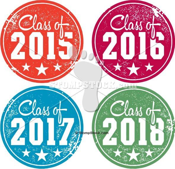 Class of 2015 graduation clipart clip art royalty free stock Class of 2015 – 2016 – 2017 – 2018 Graduation Stamps   2018   2017 ... clip art royalty free stock