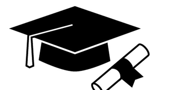 E 2018 graduate black and white clipart clip freeuse library Graduation Cap Images | Free download best Graduation Cap Images on ... clip freeuse library