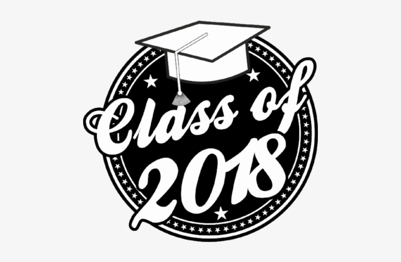 Free clipart for graduation 2018 free Class Of 2018 Graduation Window Cling - Clip Art - Free Transparent ... free