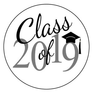 Class of 2019 clipart free svg free Details about 120 Envelope Seals Class of 2019 Graduation - Hershey Kiss  Labels -Party Favors svg free