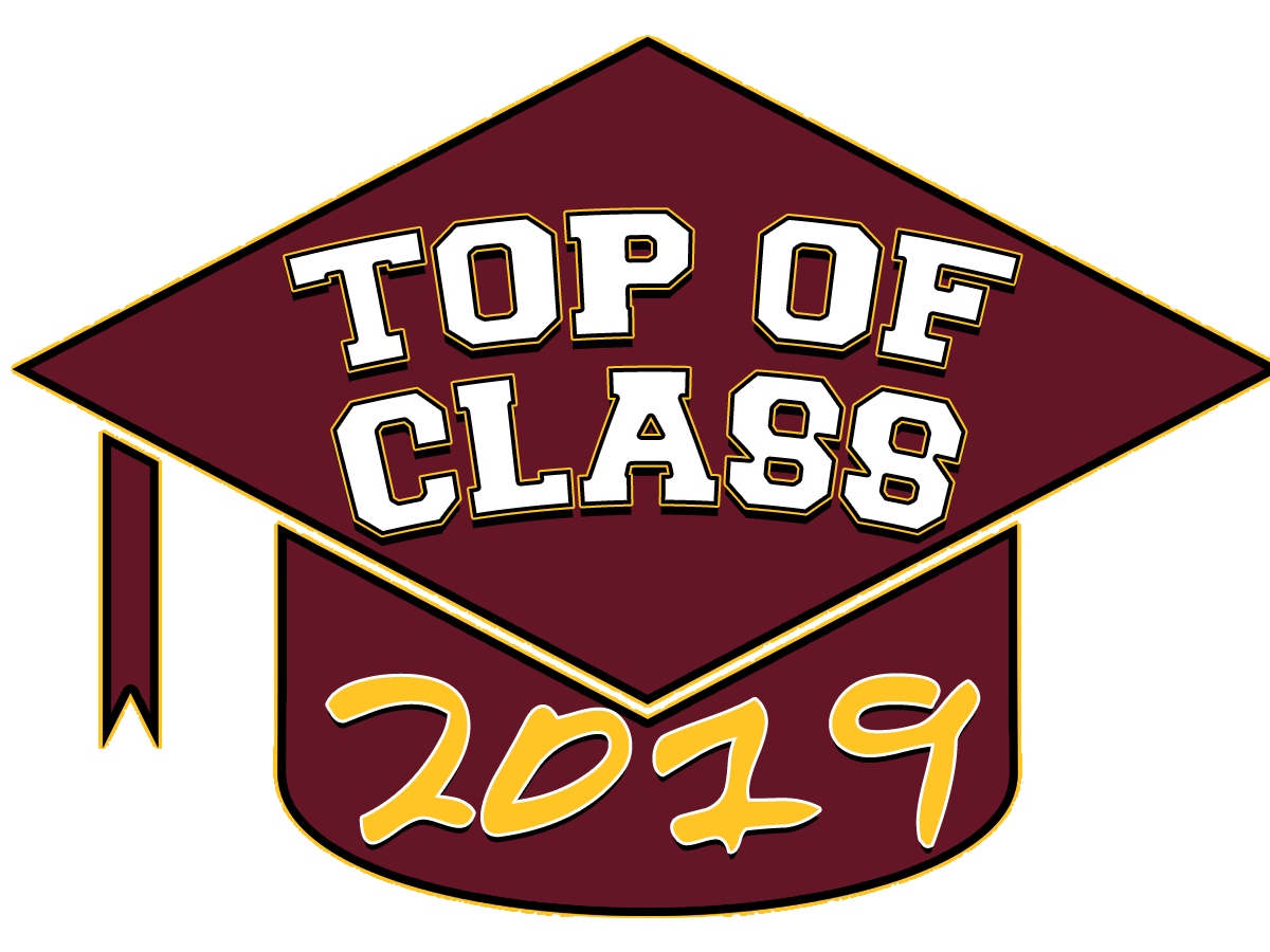Class of 2019 clipart green and yellow png black and white stock Top of Class 2019 png black and white stock