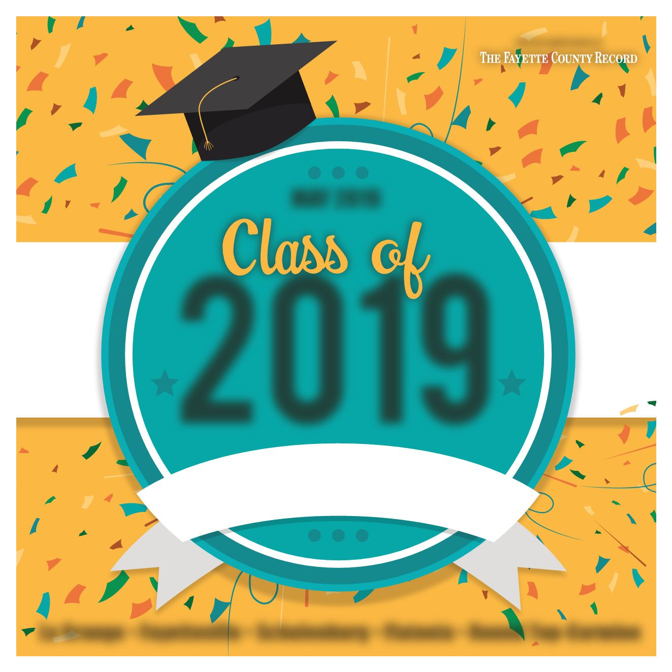 Class of 2019 clipart green and yellow clip freeuse download Graduation, 2019 clip freeuse download