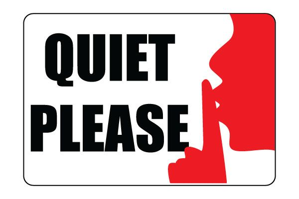 Class room quiet zone clipart black and white clip freeuse Printable Quiet Please Sign PDF free Download For Signboards | OTHER ... clip freeuse