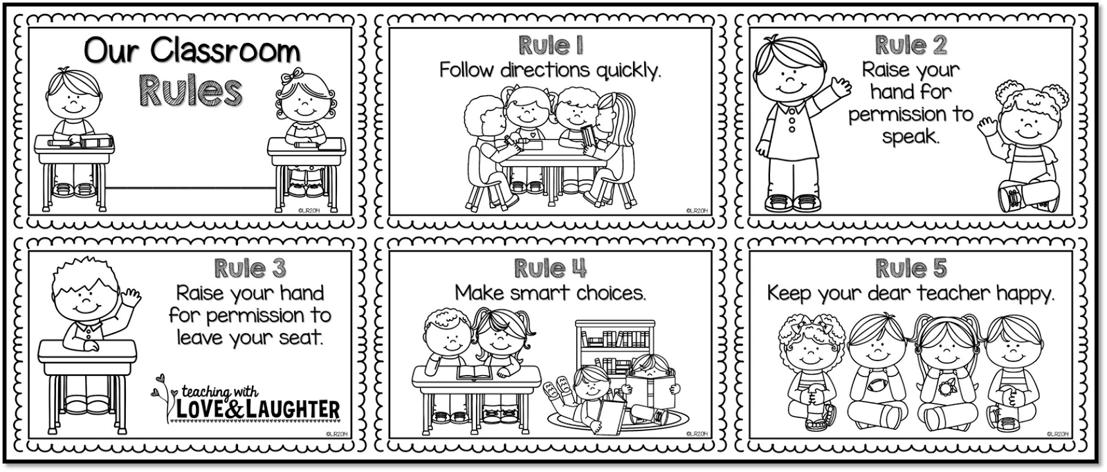 Class room quiet zone clipart black and white free Rules Cliparts White - Cliparts Zone free