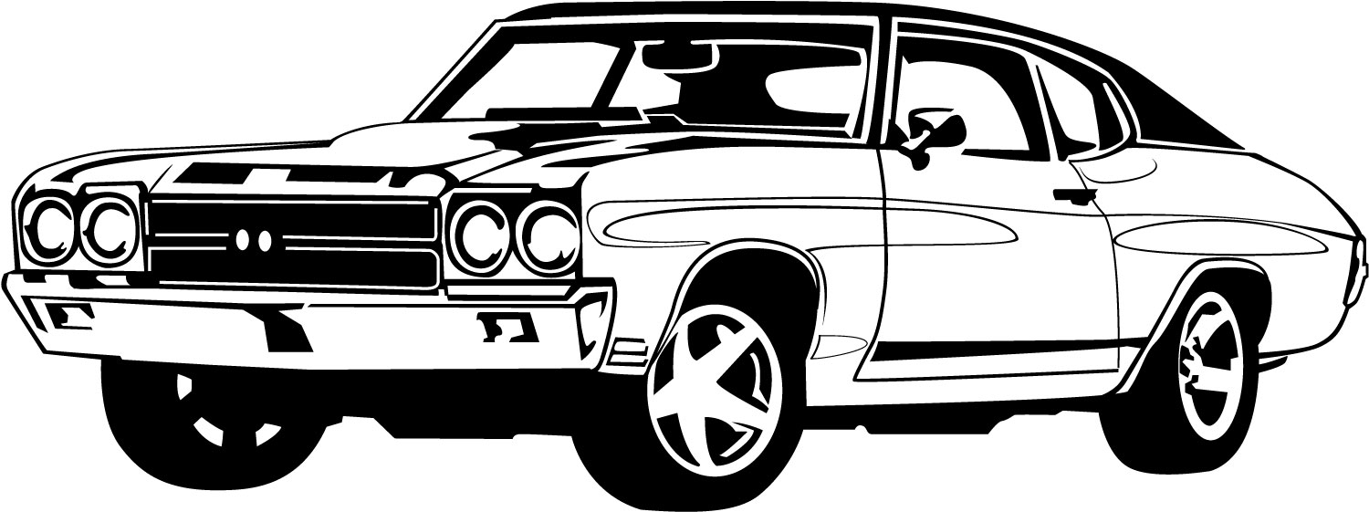 Classic car and new car picture clipart svg black and white library Classic car clip art - ClipartFest svg black and white library