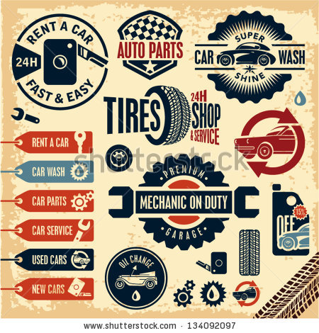 Classic car and new car picture clipart clip art black and white library Vintage Car Stock Images, Royalty-Free Images & Vectors | Shutterstock clip art black and white library