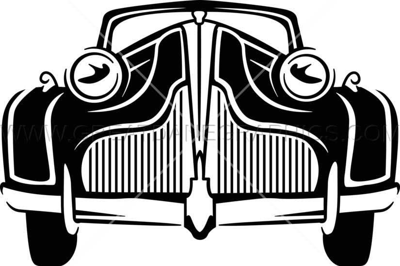 Classic car clipart free picture stock Classic Car | Production Ready Artwork for T-Shirt Printing picture stock