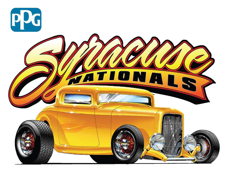 Classic car show clipart clipart black and white library 2018 PPG Syracuse Nationals Classic Car Show presented by Your Local ... clipart black and white library