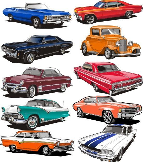 Clipart of classic cars graphic Image result for free classic car clipart | Vintage cars and trucks ... graphic