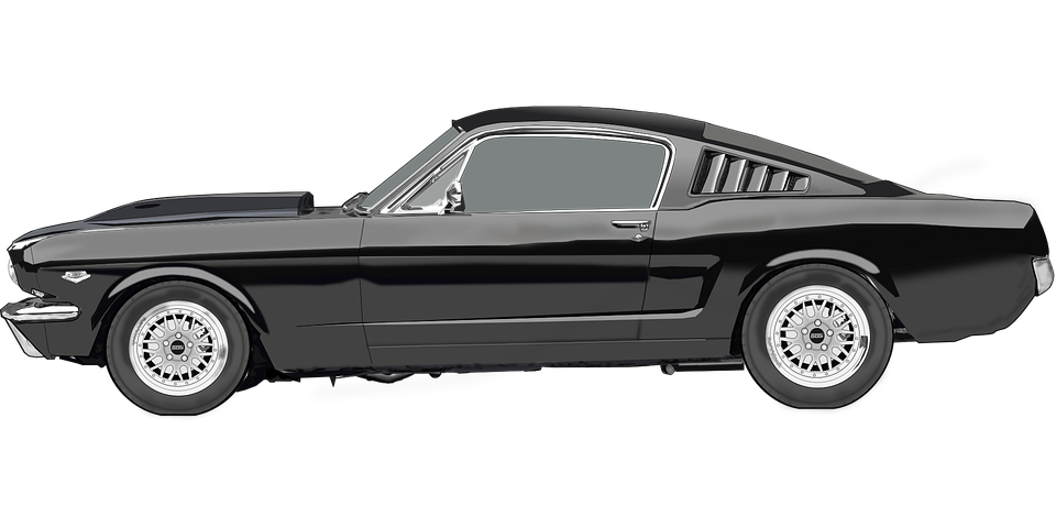 Classic mustang car clipart jpg free library Classic Car PNG Pic | PNG Mart jpg free library