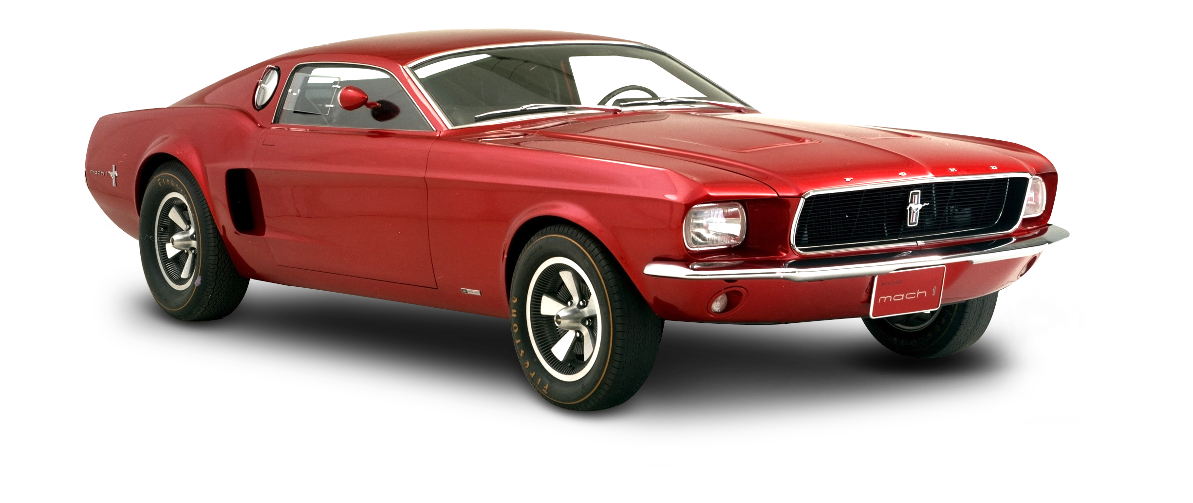 Classic mustang car clipart banner freeuse stock Red Ford Mustang Mach Car PNG Image - PurePNG | Free transparent CC0 ... banner freeuse stock