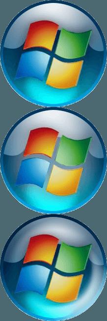Classic shell start button clipart vector transparent download Classic Windows Logo - LogoDix vector transparent download