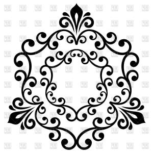 Classic vector clipart png freeuse stock Elegant Vector Ornament In Classic Style Abstract Traditional ... png freeuse stock