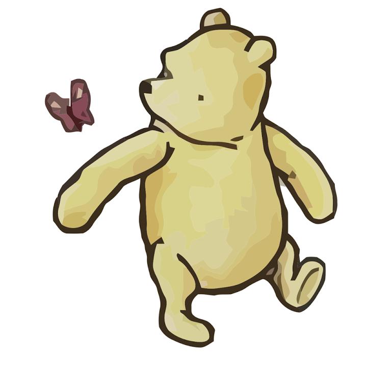 Winnie the pooh clipart classic clip Classic Winnie The Pooh Drawings | Free download best Classic Winnie ... clip