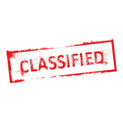 Classified stamp clipart free stock Classified Rubber Stam #12464 - PNG Images - PNGio free stock
