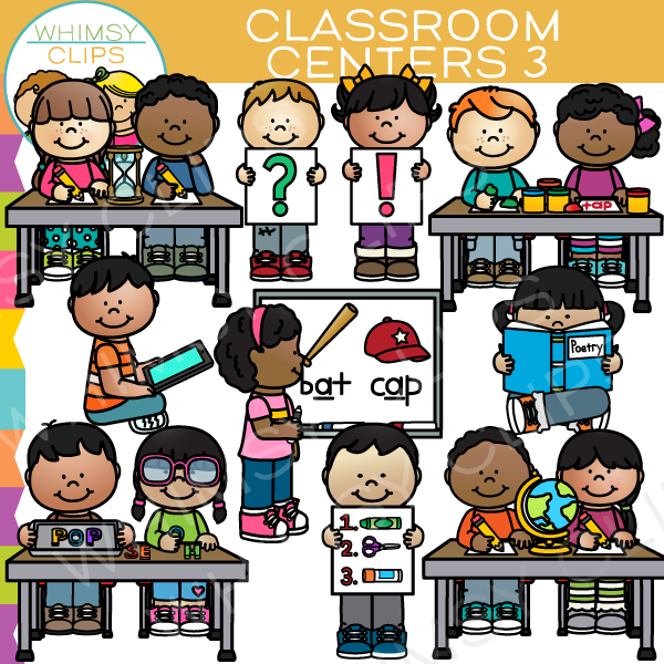Classroom centers clipart free stock Classroom centers clip art , Images & Illustrations | Whimsy Clips ® free stock
