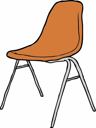 Classroom chair clip clipart clip art black and white stock Free School Chair Cliparts, Download Free Clip Art, Free Clip Art on ... clip art black and white stock