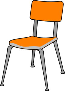 Classroom chair clip clipart jpg freeuse download Student Chair Clip Art at Clker.com - vector clip art online ... jpg freeuse download