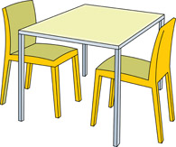 Classroom chairs under tables clipart banner free Free School Table Cliparts, Download Free Clip Art, Free Clip Art on ... banner free