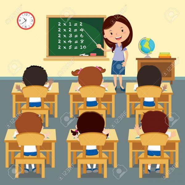 Classroom clipart free images vector transparent Class Clipart Full Classroom – Graphics – Illustrations – Free ... vector transparent