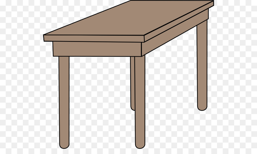 Classroom desk clipart vector Classroom Cartoon png download - 600*522 - Free Transparent Table ... vector