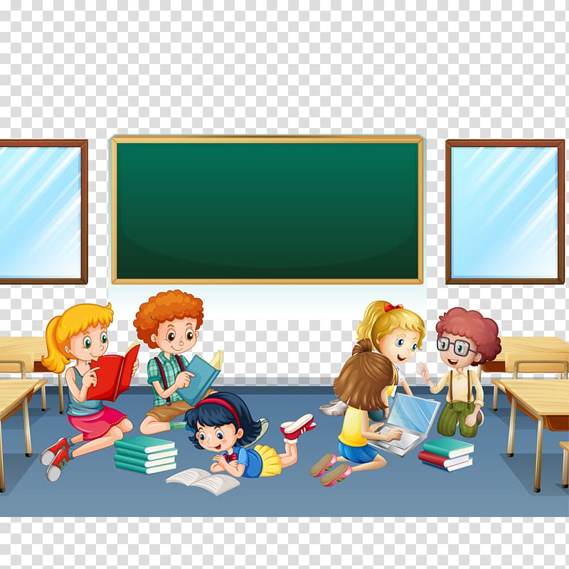 Classroom game clipart vector black and white Children inside classroom , Online game Equation Fruit Mathematics ... vector black and white