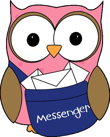 Classroom helper clipart messenger