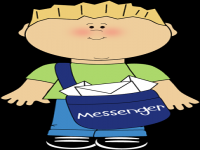 Classroom messenger clipart graphic freeuse stock Student Messenger Clipart - clipartsgram.com graphic freeuse stock