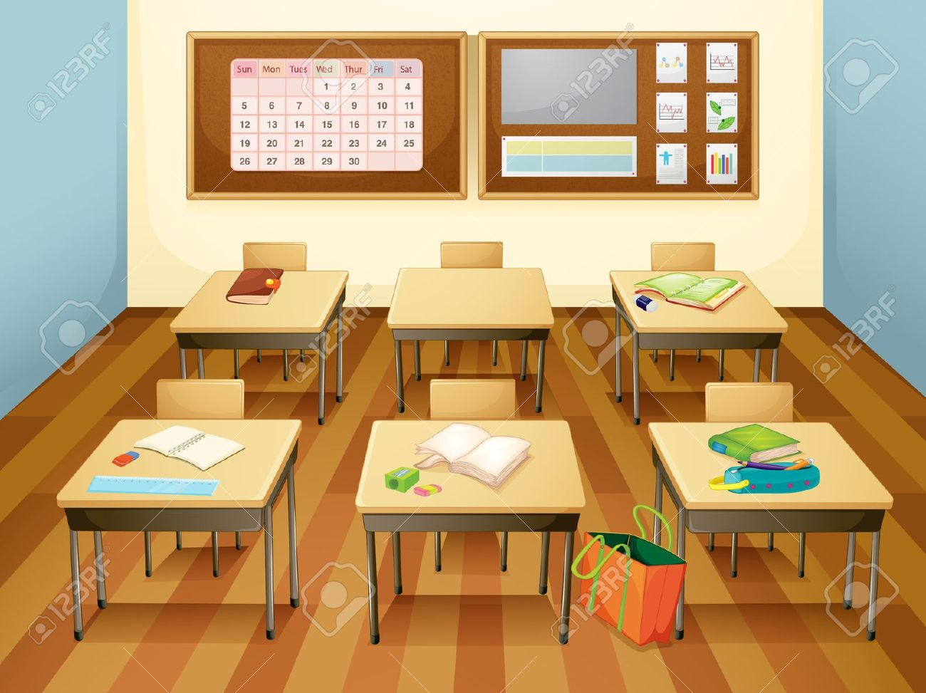 Classroom pictures clipart svg freeuse stock Empty kindergarten classroom clipart 3 » Clipart Station svg freeuse stock