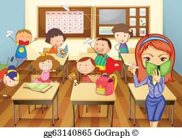 Classroom pictures clipart png royalty free download Classroom Clip Art - Royalty Free - GoGraph png royalty free download