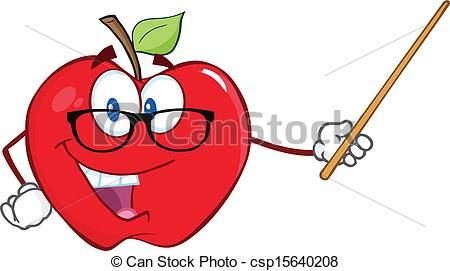 Classroom pointer clipart jpg royalty free stock Apple teacher Stock Illustrations. 3,337 Apple teacher clip art ... jpg royalty free stock