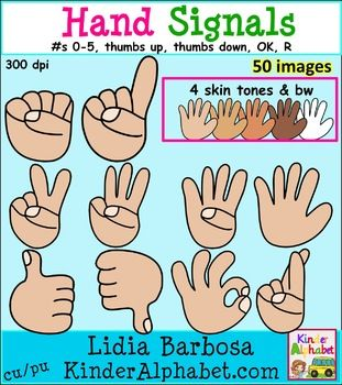 Hand signals in multicultural. Classroom thumbs up clipart
